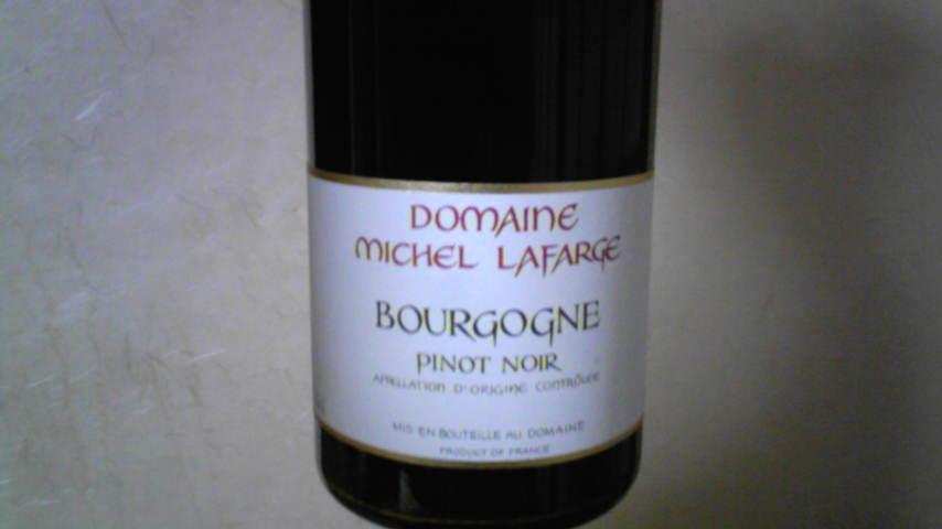 BOURGOGNE ROUGE 05 MICHEL LAFARGE
